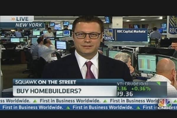 Best Homebuilder Buys