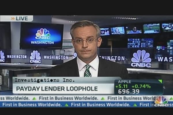 Washington payday lenders