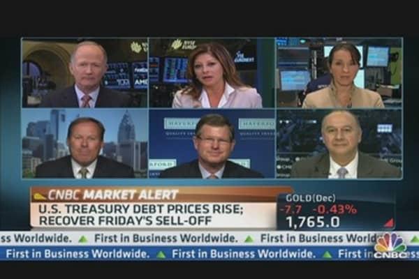 Stocks Slump to Start the Week
