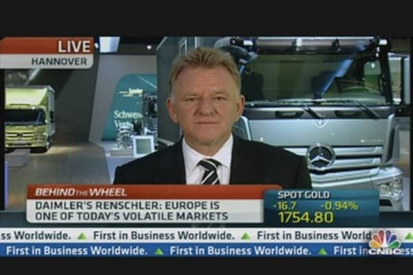 Daimler: Europe Is Weak, But Could Be Worse