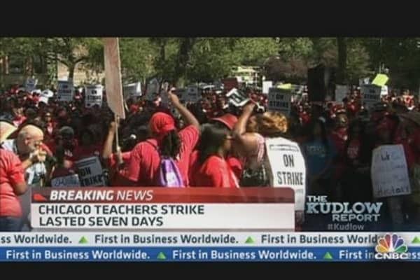 Chicago Teachers Suspend Strike