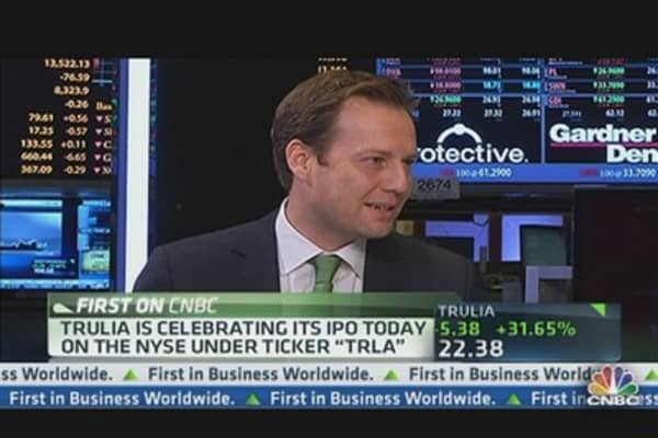Trulia Goes Public on NYSE Today
