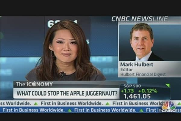 'Career Risk' Spurs Herd-Like Apple Buyers: Hulbert