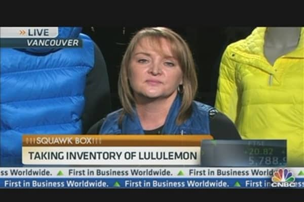 Lululemon CEO Taking Inventory