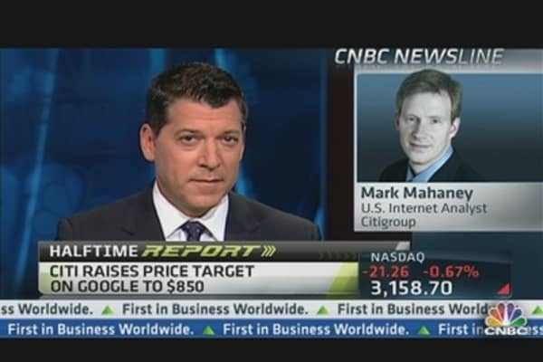 Google's Got 15 Percent Growth Ahead: Mahaney