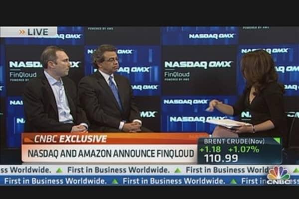 Nasdaq & Amazon Head to the Cloud