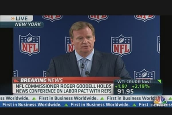 NFL's Goodell: Monday's Mess Helped End Strike