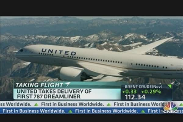 United Gets Dreamliner