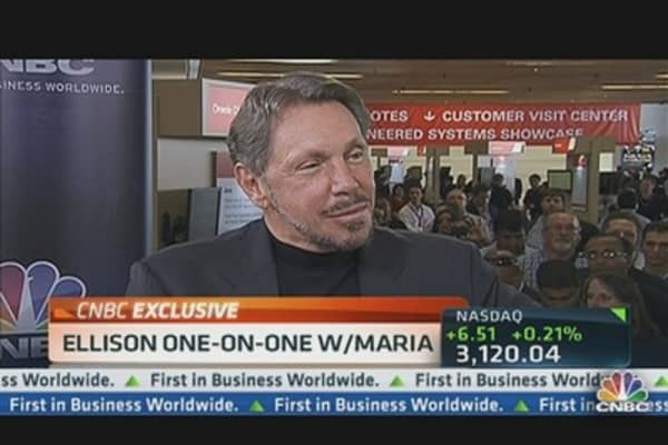 Larry Ellison: You Will See Gradual Dividend Increase