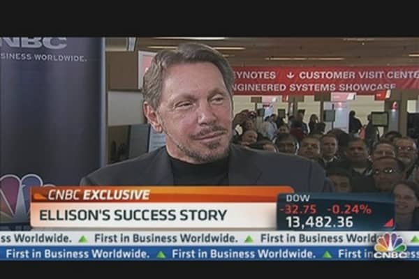 Larry Ellison: Gradually Been Rewriting Applications for the Cloud