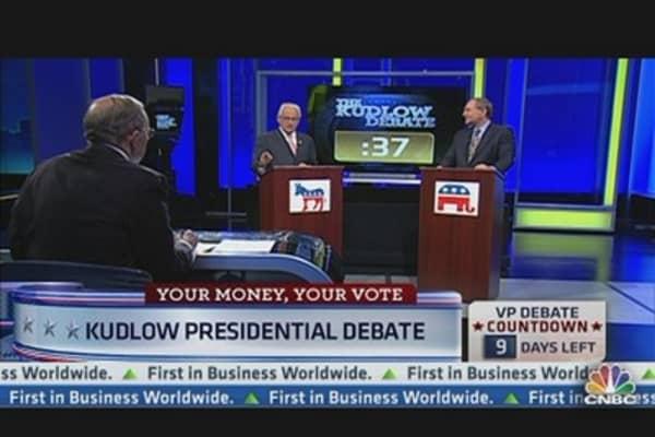 Kudlow Presidential Debate