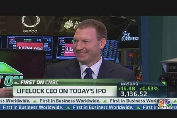 LifeLock CEO on Today's IPO
