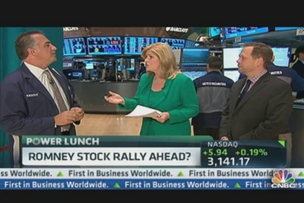 Romney Stock Market Rally Ahead?