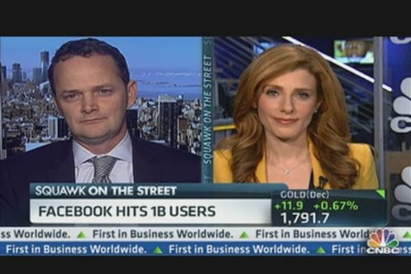 Facebook Debuts Ad, Hits 1 Billion Users