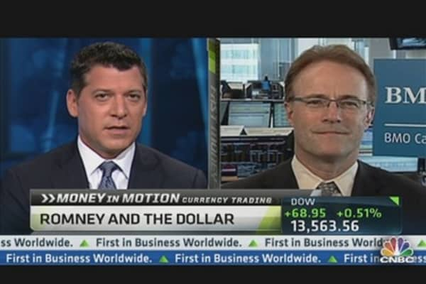 Money in Motion: Romney & the Dollar