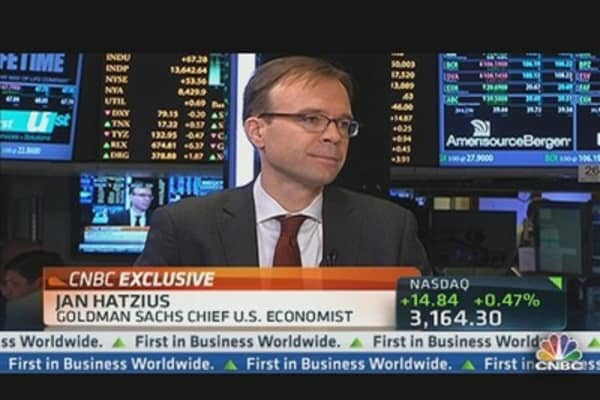 Goldman's Hatzius: Jobs Report 'Overall Pretty Encouraging'