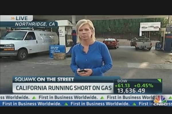 California Short on Gas?