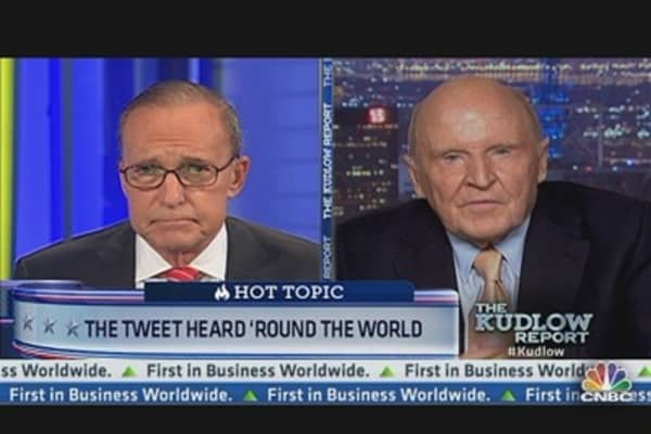 Jobs Data Too Good to Be True: Jack Welch