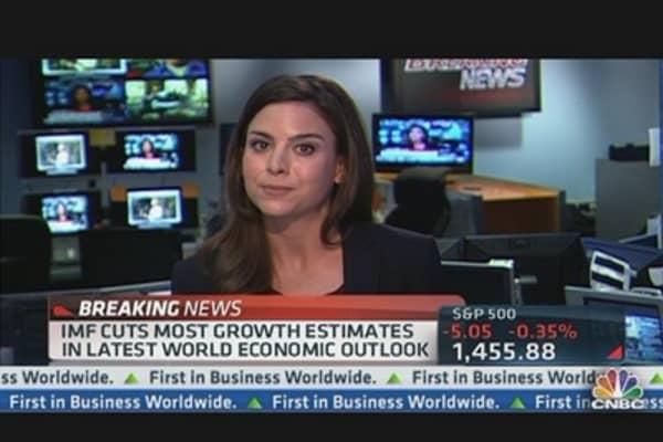 IMF Cuts Growth Estimates
