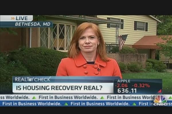 Is Housing Recovery for Real?
