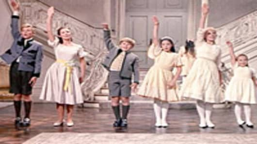 The Von Trapp Family from the Sound of Music.