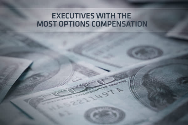 Ceos paid in stock options
