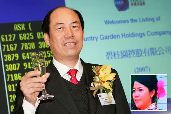 Fortune: $5.6 billionCompany: Country GardenYang Huiyan is the second wealthiest woman in mainland China and the youngest billionaire on the top 10 list.The 30-year-old inherited almost all of her wealth from her father Yang Guoqiang, a farmer turned property developer, when he transferred his 70 percent stake in the company he founded — Country Garden — to Huiyan in 2007 before its Hong Kong IPO. The initial public offering raised about $1.65 billion for the real estate development firm, which