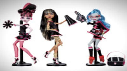 Monster High Fearleading 3-Pack