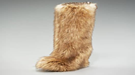 Prada's Hidden Wedge Fur Boot