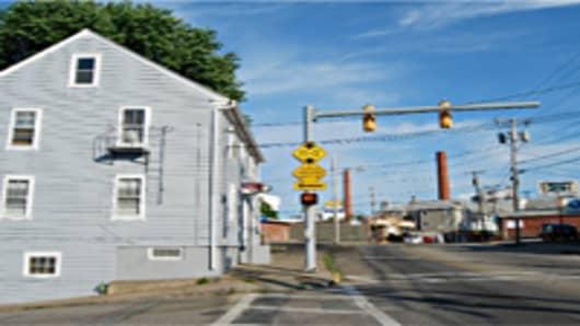 Broad Street, Central Falls, Rhode Island