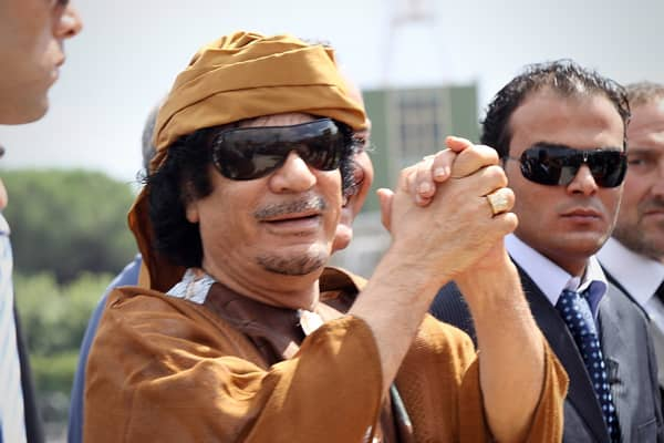 Photo: Muammar Gaddafi: Getty Images