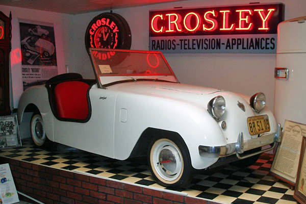 The Crosley Hotshot was the work of Powel Crosley Jr., an Ohio industrialist who owned Crosley Broadcasting and the Cincinnati Reds. Despite this impressive resume, he was unsatisfied. Crosley longed to make cars, and in 1939 he founded Crosley Motors. Despite his success in several different businesses over the years, however, the car company never took off, and it became a black mark on Crosley's otherwise impressive career.One of the company's biggest embarrassments was the 1950 Hotshot. A st