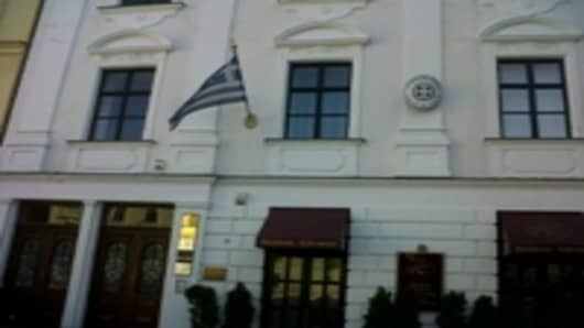 The Greek Embassy in Bratislava