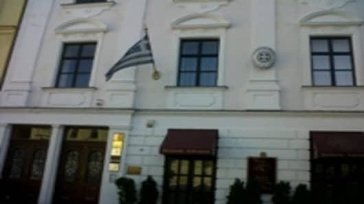 The Greek Embassy in Bratislava