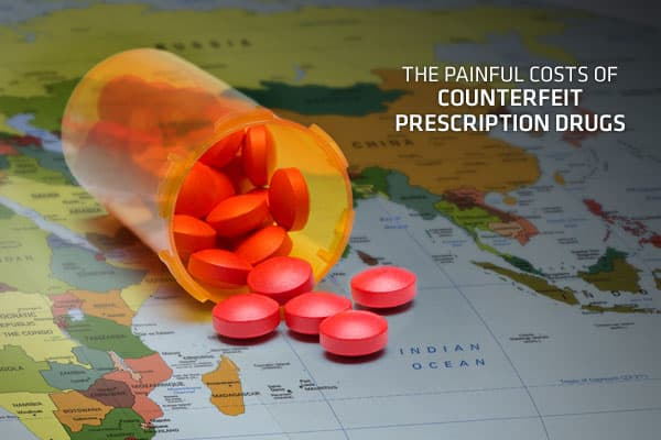Counterfeit prescription pharmaceuticals are widely recognized as a growing public health risk and a serious concern to public health officials, private companies, and consumers. This slideshow presents a shortened overview of the longer report,  In some countries around the world, counterfeit prescription drugs comprise as much as 70% of the drug supply and have been responsible for thousands of deaths in some of the world's most impoverished nations, according to the World Health Organization
