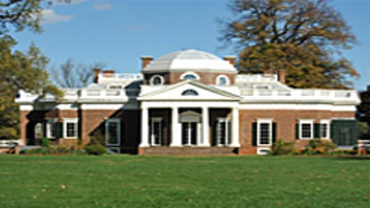 Monticello University of Virginia