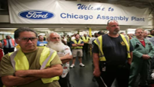 Ford Auto Workers Chicago