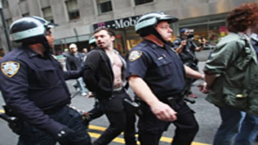 Arrests from Occupy Wall Street
