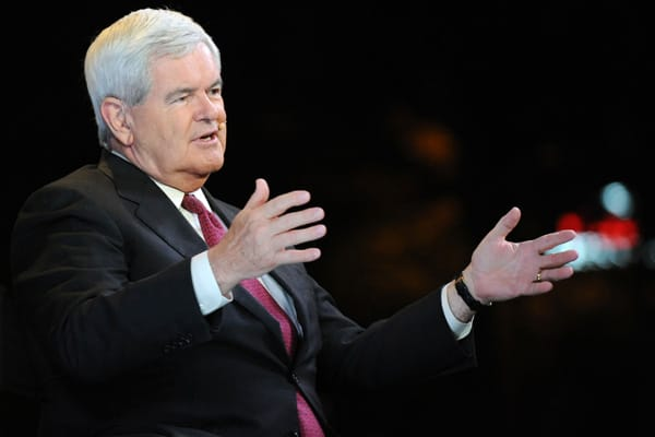 author, speaker, documentary film producer  flat tax, zero capital gains tax, reduce government size and spending by applying modern management theory, repeal Dodd-Frank.  2.9 million  Newt is at heart an academic, and the sweeping measures to right-size the federal government and lower taxes that he introduced as Speaker in the 1990s foundered on the realities of Washington politics. Fifteen years later, he has reloaded on management techniques like Lean Six Sigma to streamline federal bureauc