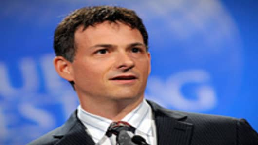 David Einhorn, president of Greenlight Capital Inc., speaks at the Value Investing Congress in New York.
