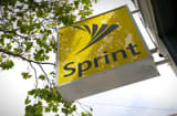The Sprint Nextel Corp. sign is seen on the facade of a Sprint Nextel Corp. store in San Francisco, California.