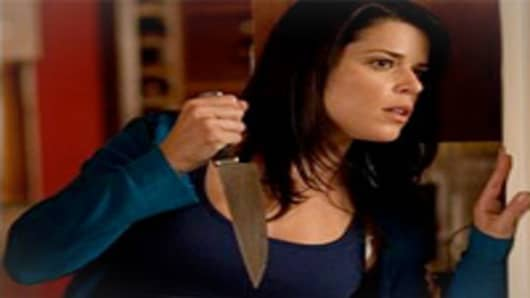 Neve Campbell in Scream 4.