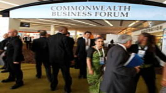 Australian CEOs said they weren't worried about a major slowdown in China on the sidelines of the Commonwealth Business Forum in Perth.