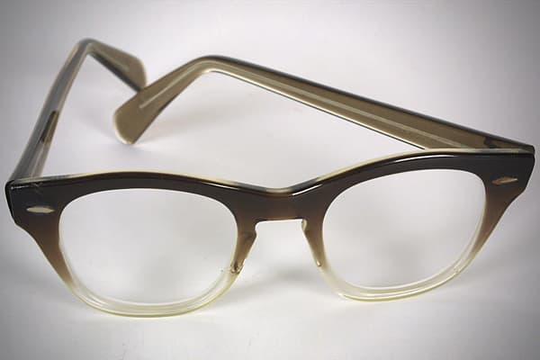 This pair of Bausch & Lomb eyeglasses were worn by President Richard Nixon around the time of his Aug. 9, 1974 resignation and departure from the White House. The glasses were given to Clara Richardson, a maid at the White House from 1959 until 1979, by Nixon's valet at the time. Photographs in various books depict the outgoing president putting on a pair of eyeglasses when he signed his resignation letter. In an engraved White House card signed by Richardson, she indicates that she does not kno