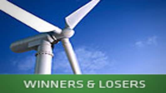 Green - Winner & Losers - A CNBC Special Report