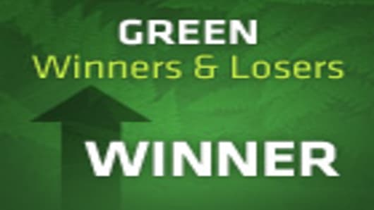 Green - Winners & Losers - A CNBC Special Report