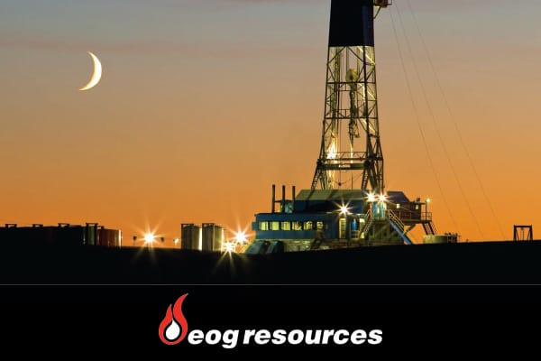 Cramer picked EOG Resources as one of the best single ways to play the many large oil discoveries in the U.S. The company was the top producer in the U.S.'s two largest domestic reserves: the Bakken shale in North Dakota and the Eagle Ford shale in Texas. Not only is EOG one of the largest oil and natural gas companies in the U.S., it also has proven reserves in the Canada, China, Trinidad and the United Kingdom.Cramer praised the company for shifting its emphasis away from natural gas and conce