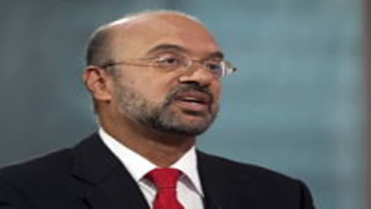 Piyush Gupta, chief executive officer of DBS, Southeast Asia's largest bank.