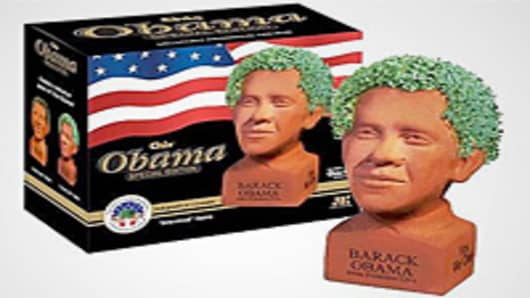 Barack Obama Chia Pet