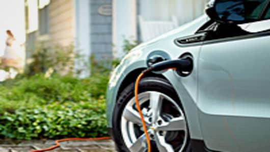 2012 Chevrolet Volt Electric Car